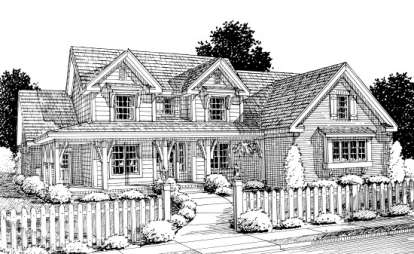 3 Bed, 3 Bath, 2924 Square Foot House Plan - #4848-00163