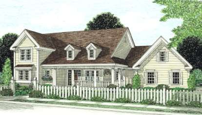 3 Bed, 3 Bath, 2438 Square Foot House Plan - #4848-00179