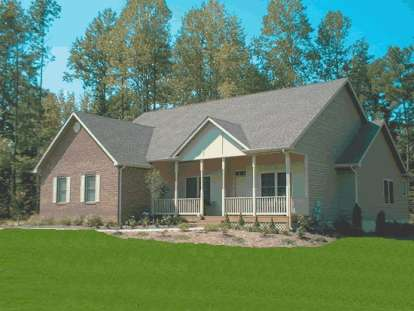 4 Bed, 2 Bath, 1958 Square Foot House Plan - #4848-00196