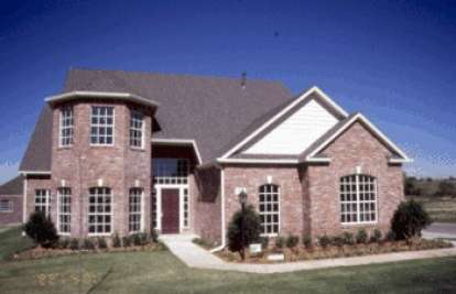 4 Bed, 3 Bath, 2878 Square Foot House Plan - #4848-00285