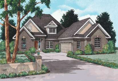 4 Bed, 3 Bath, 2834 Square Foot House Plan - #4848-00300