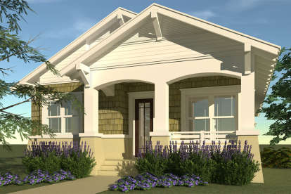 3 Bed, 2 Bath, 1474 Square Foot House Plan - #028-00004