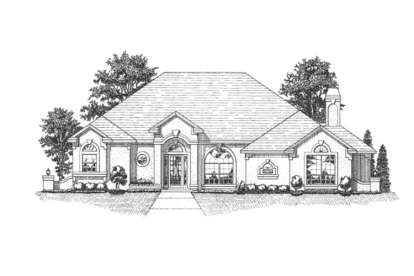 3 Bed, 2 Bath, 2174 Square Foot House Plan #4766-00046