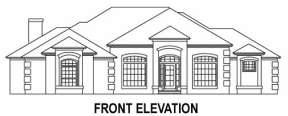 Traditional House Plan #4766-00071 Elevation Photo