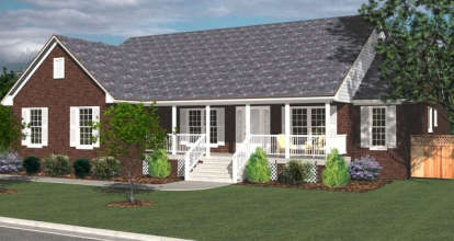 4 Bed, 2 Bath, 2145 Square Foot House Plan - #4766-00092