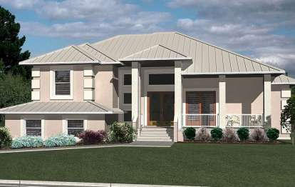 3 Bed, 2 Bath, 2208 Square Foot House Plan - #4766-00101