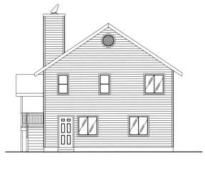 Vacation House Plan #039-00149 Elevation Photo