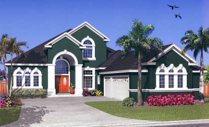 4 Bed, 3 Bath, 3247 Square Foot House Plan - #4766-00106