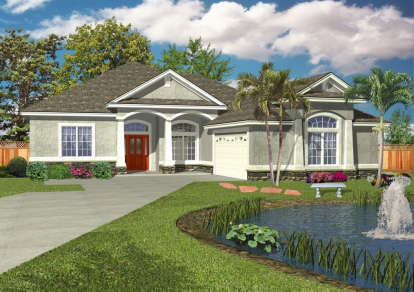 3 Bed, 2 Bath, 1865 Square Foot House Plan #4766-00139