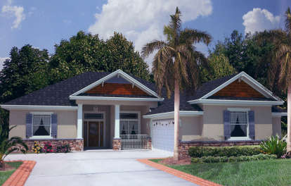 4 Bed, 2 Bath, 2245 Square Foot House Plan - #4766-00144