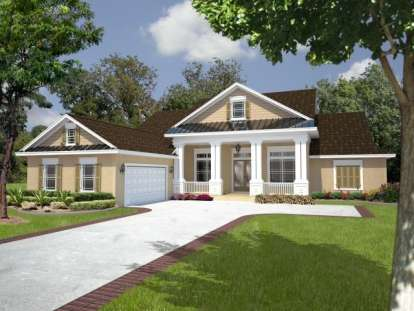 4 Bed, 3 Bath, 2445 Square Foot House Plan - #4766-00168