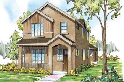 3 Bed, 2 Bath, 2062 Square Foot House Plan - #035-00587