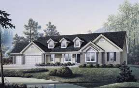 Southern House Plan #5633-00034 Elevation Photo