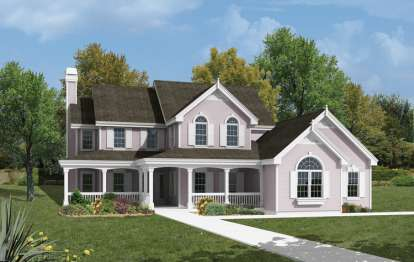 3 Bed, 3 Bath, 2182 Square Foot House Plan - #5633-00035