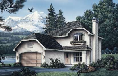 3 Bed, 2 Bath, 1492 Square Foot House Plan - #5633-00037