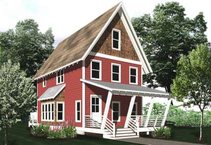 2 Bed, 2 Bath, 1352 Square Foot House Plan - #5738-00008