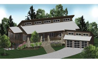 5 Bed, 5 Bath, 4910 Square Foot House Plan - #5738-00011