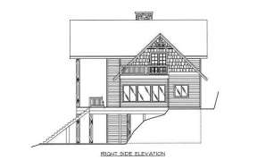 Lake Front House Plan #039-00170 Additional Photo