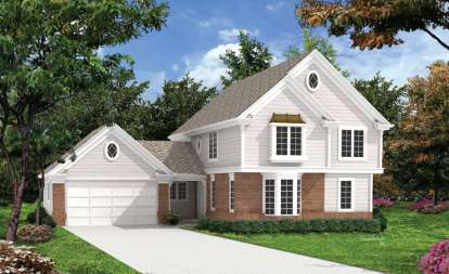 5 Bed, 2 Bath, 2012 Square Foot House Plan - #5633-00051