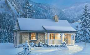 Country House Plan #5633-00060 Elevation Photo