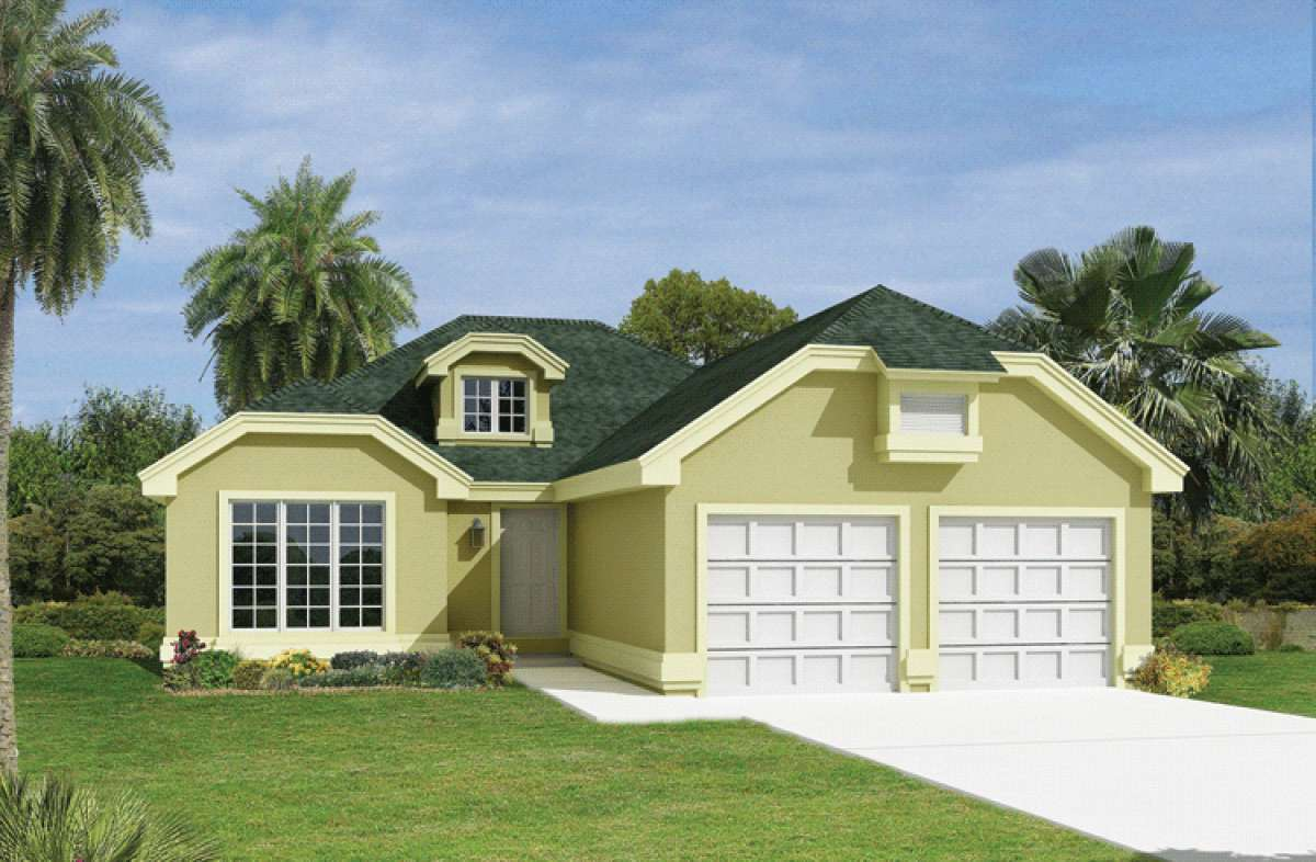 Contemporary Plan 1 516 Square Feet 3 Bedrooms 2