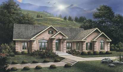 3 Bed, 2 Bath, 2723 Square Foot House Plan #5633-00067