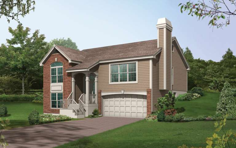 Traditional House Plan #5633-00078 Elevation Photo