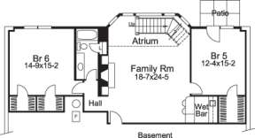 Floorplan 2 for House Plan #5633-00082