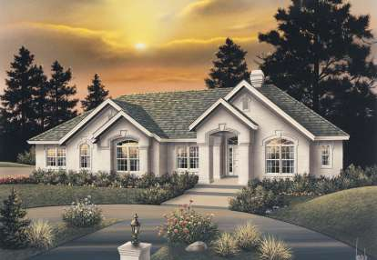 4 Bed, 3 Bath, 3342 Square Foot House Plan - #5633-00083