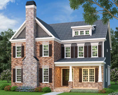 5 Bed, 4 Bath, 3571 Square Foot House Plan - #009-00200