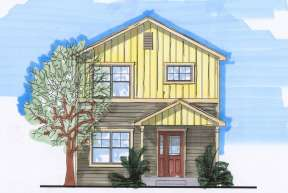 Craftsman House Plan #5631-00029 Elevation Photo