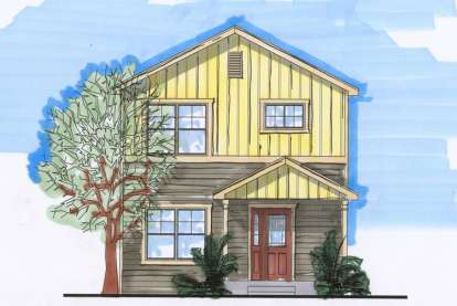 2 Bed, 1 Bath, 1739 Square Foot House Plan - #5631-00029