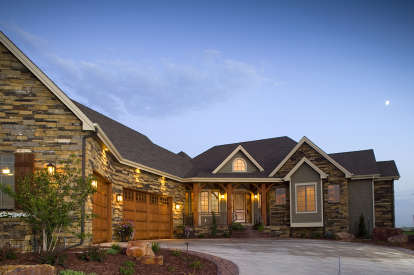 5 Bed, 4 Bath, 5564 Square Foot House Plan #5631-00032