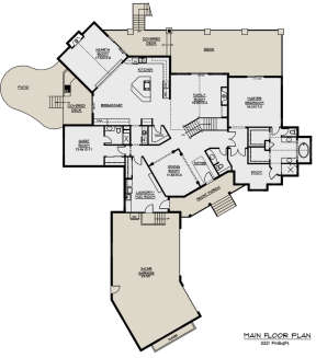 Main Floor for House Plan #5631-00032