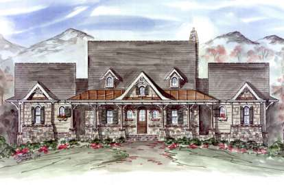 2 Bed, 2 Bath, 1873 Square Foot House Plan - #699-00042