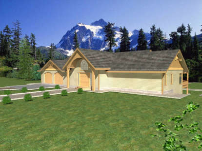 3 Bed, 2 Bath, 4468 Square Foot House Plan - #039-00185