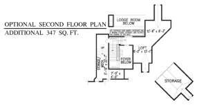 Floorplan 2 for House Plan #699-00048