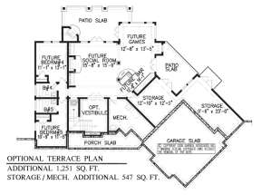Floorplan 3 for House Plan #699-00048