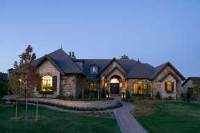 Luxury House Plan #5631-00051 Elevation Photo