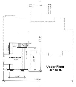 Floorplan 2 for House Plan #098-00269