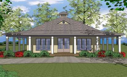 2 Bed, 2 Bath, 1225 Square Foot House Plan - #6471-00031
