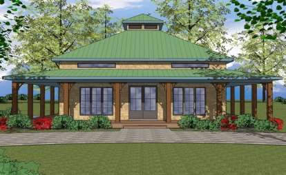 2 Bed, 2 Bath, 1225 Square Foot House Plan - #6471-00033