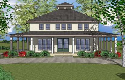 3 Bed, 3 Bath, 1911 Square Foot House Plan - #6471-00037