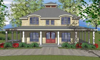 4 Bed, 2 Bath, 2218 Square Foot House Plan - #6471-00038