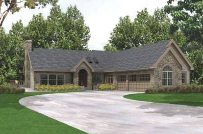 3 Bed, 3 Bath, 3500 Square Foot House Plan - #5633-00126