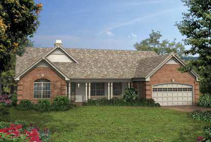 4 Bed, 3 Bath, 1914 Square Foot House Plan - #5633-00130