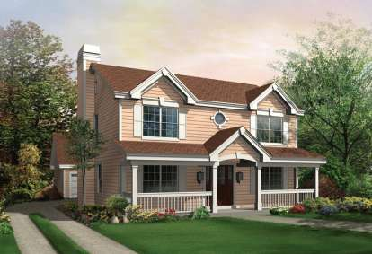 3 Bed, 2 Bath, 2054 Square Foot House Plan - #5633-00132