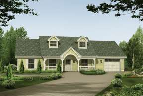 Country House Plan #5633-00136 Elevation Photo