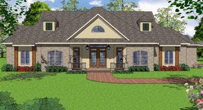 3 Bed, 2 Bath, 2966 Square Foot House Plan - #6471-00049