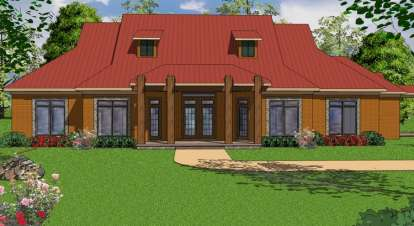 3 Bed, 2 Bath, 2966 Square Foot House Plan - #6471-00050